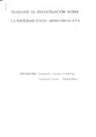 [sin fecha] Díaz, Amanda y Flores, Reina M, Trabajos de Investigación sobre la sociedad joven afro urugaya.pdf
